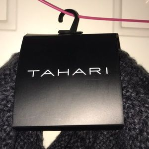 Tahari cable knit infinity scarf